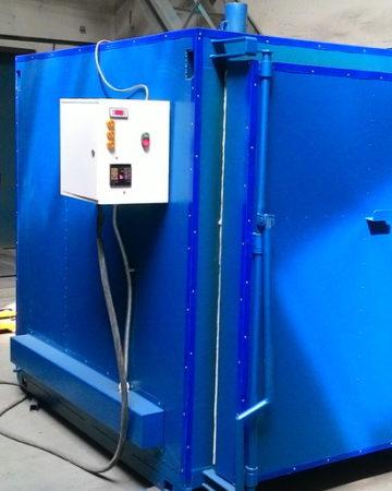 Печи термообработки и оксидирования